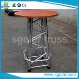 Binder Table - Solid Wood und Aluminum