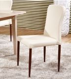 鉄フレーム(DC029)が付いている椅子を食事するシンプルな設計PUのクッション