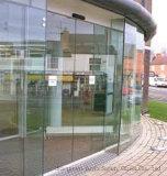 店の前部のための薄板にされたガラス