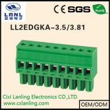 Pluggable разъем терминальных блоков Ll2edgkam-7.5/7.62