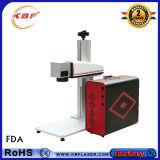 Máquina de gravura do laser da fibra da fábrica 30W para o aço de Stainess