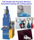 Prodotti automatici del PVC del lato del doppio della macchina dell'iniezione del modanatura del PVC Keychain