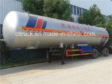 Remorque chaude de remboursement in fine de réservoir de gaz de Cbm LPG de la vente 45 pour le Nigéria
