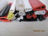 Stroken van het Schuim van het Profiel van de Producten van het silicone de Rubber Duurzame Witte voor het de AutoDeur en Venster van de Bescherming