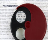 Ampliación ajustable tiempos Mini lupa de la lámpara, portátil plegable de bolsillo lupa de aumento (EGS-17140)