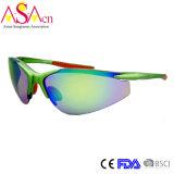 Occhiali da sole dello specchio Tr90 UV400 di sport degli uomini di alta qualità (14350)
