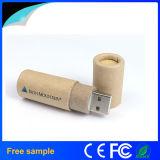 Impulsión ambiental del flash del USB del papel de la impresión de la insignia del OEM