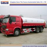 Sinotruk HOWO 20cbm 물 탱크 또는 물뿌리개 트럭