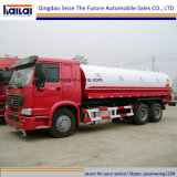 Sinotruk HOWO 20cbm tanque de agua / aspersor de camiones