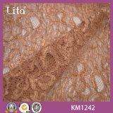 Nylon-Kleid-Gewebe der Qualitätsbuntes Spitze-100%