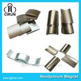 صنع وفقا لطلب الزّبون دائمة قوس شكل نيوديميوم محرك مغنطيس