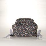 (99133) Morrales florales retros del PVC dos de la lona sólida impermeable de los bolsillos