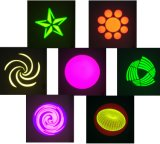 luz principal movente do diodo emissor de luz 75W com os 14 Gobos para o estágio