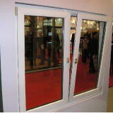 Selling chaud Double Glazed PVC/UPVC Casement Tilt et Turn Glass Window