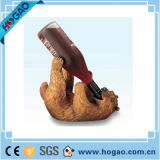 Sostenedor de botella animal de vino del cisne de la resina del sostenedor del vino de Decoraion de la resina