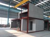 별장 정면 벽 널을 설치하는 클래딩에 의하여 강화되는 섬유 시멘트 랩 판자벽