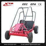 O pedal grande 2seat caseiro do gás de Polular vai Kart para miúdos