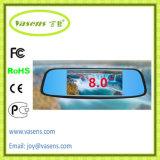 """8 """"タッチ画面の人間の特徴をもつ駐車表示車のダッシュカムダッシュボードのカメラ二重レンズDVR GPSの運行WiFi"""