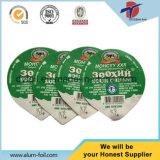 Prägende Aluminiumfolie-Kappe für Heißsiegel-Joghurt-Plastikcup
