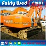 Japão fêz a máquina escavadora usada boas condições da esteira rolante Ex200-2 de Hitachi