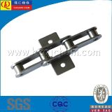 Attachments를 가진 두 배 Pitch Precision Conveyor Chain