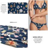 수영복과 저어지 복장을%s 폴리에스테 니트 직물을 인쇄하는 디지털