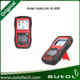 100%Original AutelのAl 539の診察道具Al539 Obdiiおよび電気テストツールAl539のアップデートオンラインAutel Autolink Al539