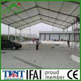 Tent van het Pakhuis van de Opslag van de Structuur van het Frame van het Dak van de stof de Waterdichte Wind