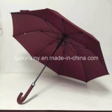 Gerades Auto Open Umbrella mit Fiberglass Frame Pongee Fabric