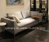 Sofà di cuoio di legno del fabbricato di stile moderno del sofà di Divany impostato (D-71-D)
