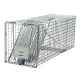 Eco-Friendly Foldable Metal Wire Mesh Squirrel / Souris / Skunk / Hamster Trap Cages