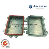 Rectángulo de almacenaje de aluminio con bloquear del metal