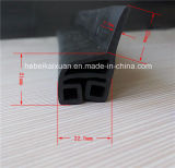 EPDM Auto Rubber Extrusion Whindshield Sealing Weather Strips para Portas e Janelas