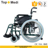 Guangzhou Factory Aluminum Power Wheelchair mit Lithium Battery