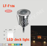 Lf F106 0.8W SMD 3528 DC 12V IP67 Waterptoof Underground LED Lamp