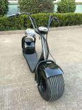 Scooter électrique de Citycoco de la CE et de moteur sans frottoir de RoHS 1000W avec la grande roue