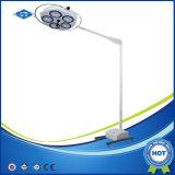 Het plafond zette Chirurgische Lamp met LEIDENE Bol (YD02-5+5) op