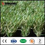 30mm professionelle natürliche künstliche Gras-Fliese für im Freiengarten