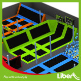 Jumping Mat를 가진 성숙한 Cheap Indoor Rectangular Trampoline