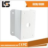 Personnaliser la bride de coin de support de mur d'appareil-photo de télévision en circuit fermé d'alliage d'aluminium