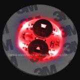 Coaster relativo à promoção da etiqueta do diodo emissor de luz 3m com logotipo impresso (4040)