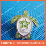 2003년 Tortoise/Testudo Animal Enamel Metal Custom Lapel Pin에 있는 공장 Established