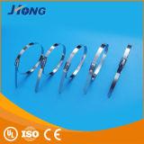 Edelstahl-Kabelbinder-Nylonkabelbinder-Silikon Ruber Kabelbinder