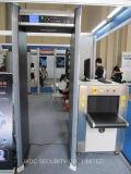 金属探知器の警報システムを通るセリウムによって証明される歩行