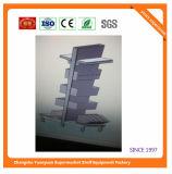Sistema de la estantería del supermercado del panel trasero del metal para Fiji 08054