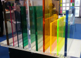 3mm 간격 명확한 착색된 방풍 유리 장