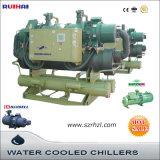 60HP 40% Gekoelde Harder van het Type van Schroef van de Glycol van de Ethyleen Water