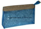 Duidelijke Toiletry van de Bagage Zippered van pvc Vinyl draagt Zak van de Make-up van de Reis van de Zak de Kosmetische