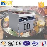 고능률 휴대용 스테인리스 독립 구조로 서있는 6개의 가열기 감응작용 요리 기구