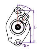 Complessivo per Motorcycle, complessivo di Motor del dispositivo d'avviamento Avviatore per Jog50